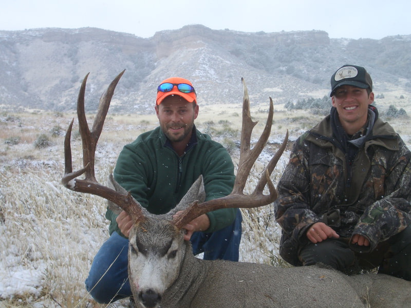 trophy mule deer hunting wyoming