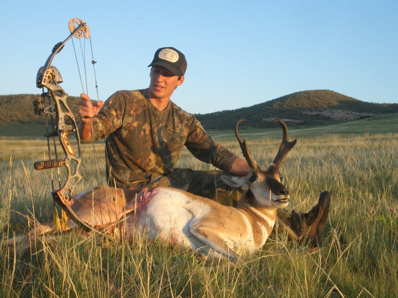 bow hunting pronghorn antelope
