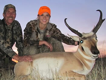 Wyoming pronghorn antelope hunting