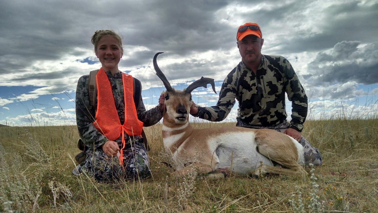 Wyoming non-typical pronghorn antelope buck